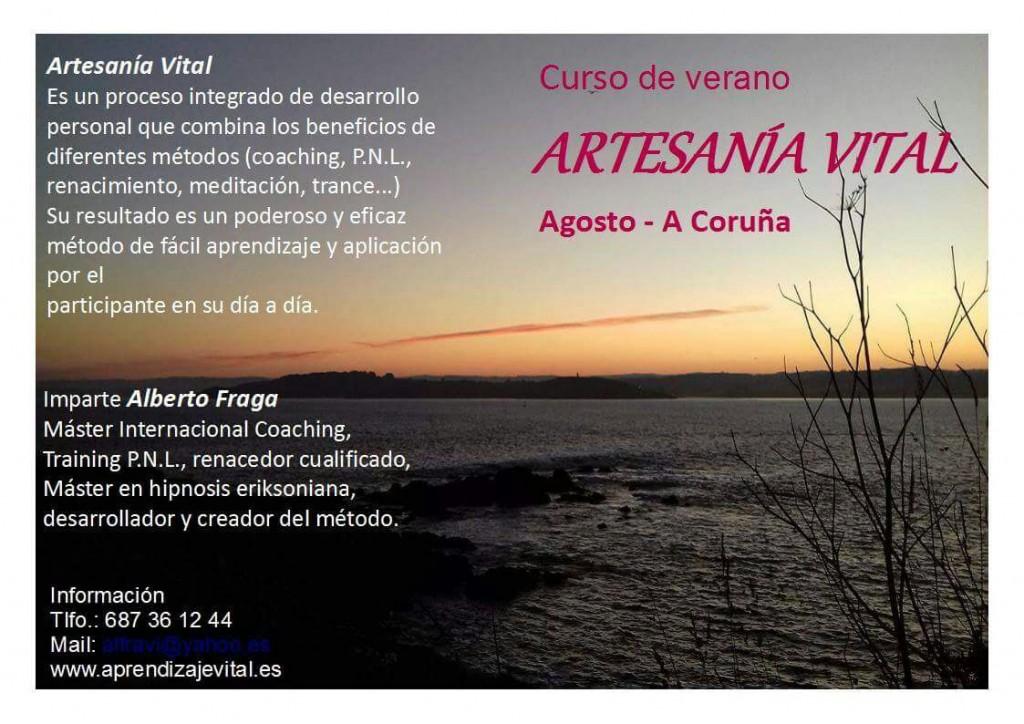 Curso Verano 2017 Artesania Vital